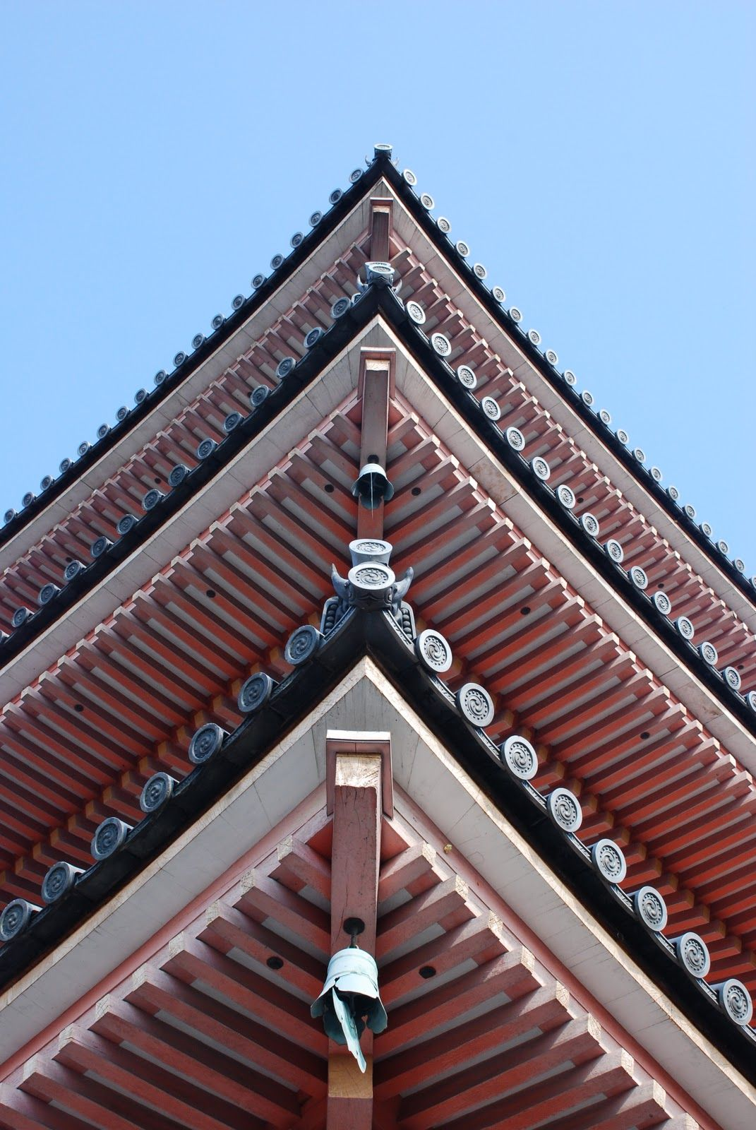 Japanese Roof Detail Roof Architecture Cool Roof Modern Roofing