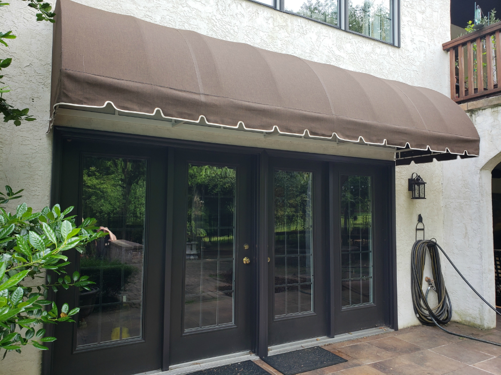 Waterfall Style Residential Entrance Awning Door Hood Entrance Awnings Entrance Awning