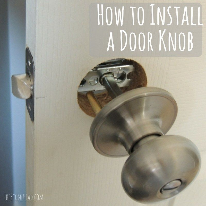 How To Install An Interior Slab Door The Home Depot With Images