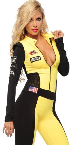 Sexy Costumes Popular Brand Sexy Race Car Driver Costume Racy Racer Girl Uniform Racing Cheerleader Dress With Hat Latest Technology