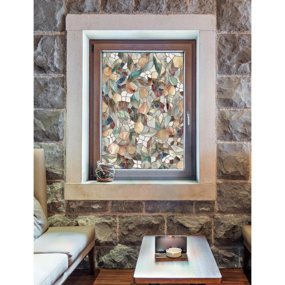 Artscape 24 In W X 36 In H Venetian Decorative Window Film 01