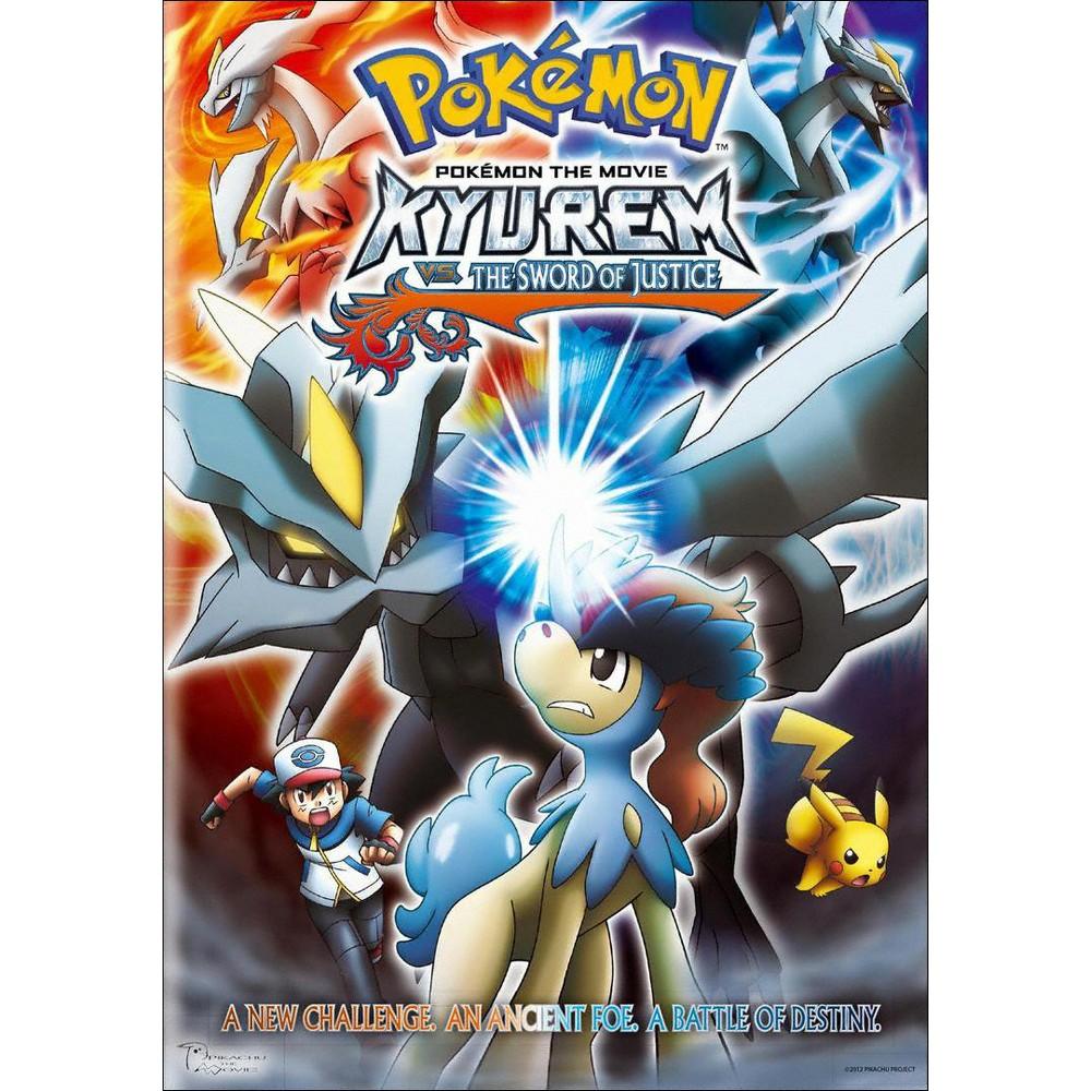 Pokemon The Movie Kyurem Vs The Sword Of Justice Dvd Video