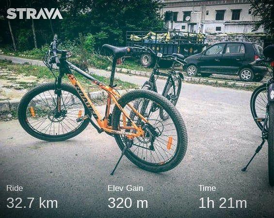 Medal 4 pedal (BCG) challenge 30days 1250km. MKA Qadian (ACCQ)🚭🚲 #rideforpeace✌#mkaqadian# #TrekBike...
