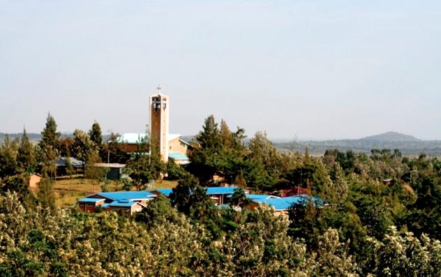 Divine Mercy Hill in Kiabakari