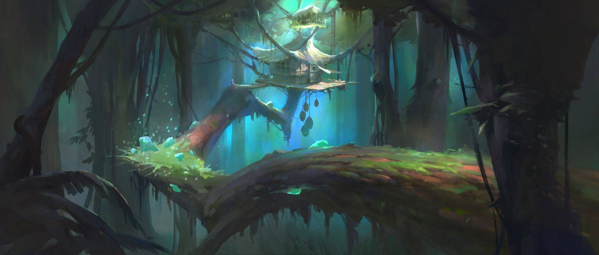 ArtStation - Forest of witch, you jeong Cho