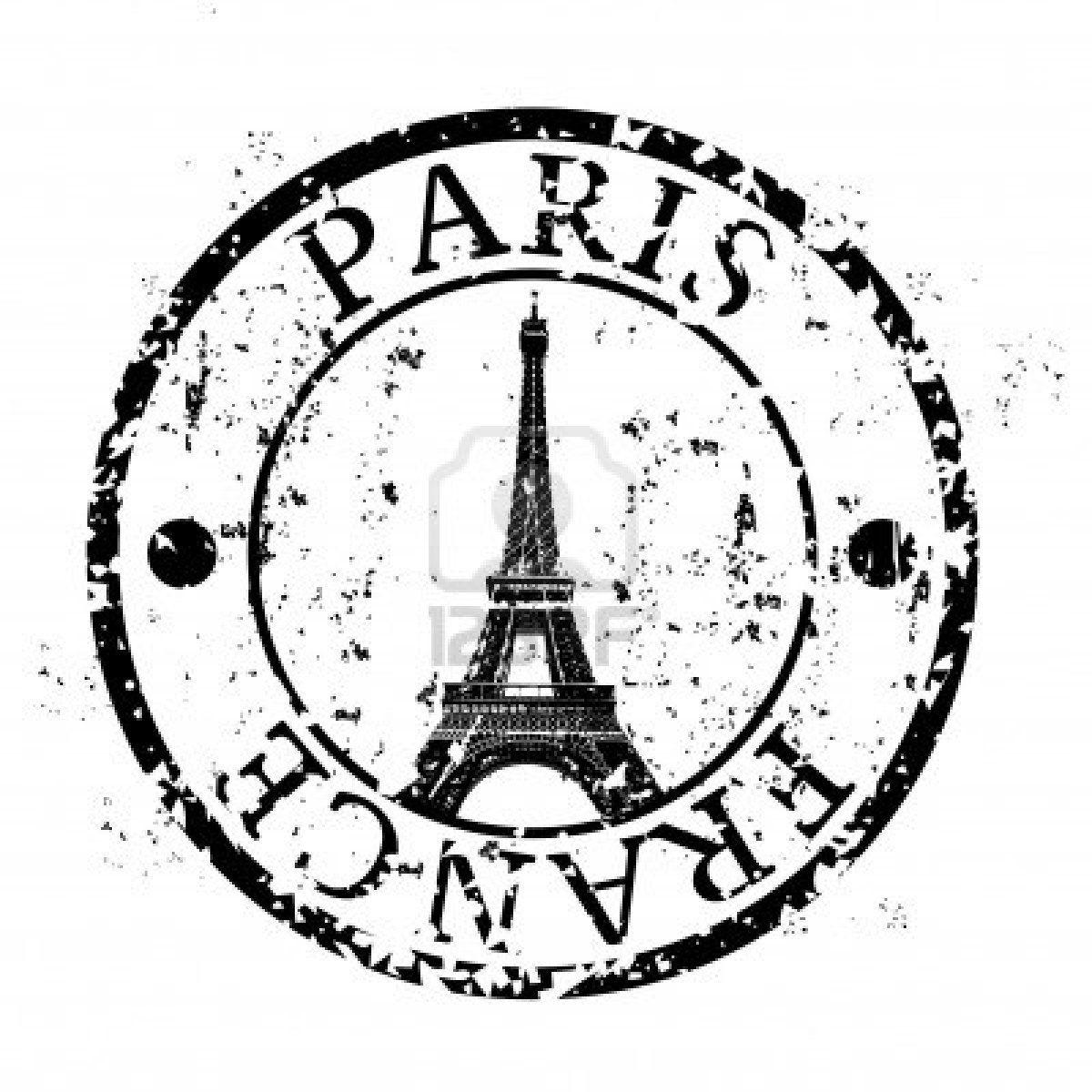 Vector Illustration Of Single Isolated Paris Icon Etiquetas