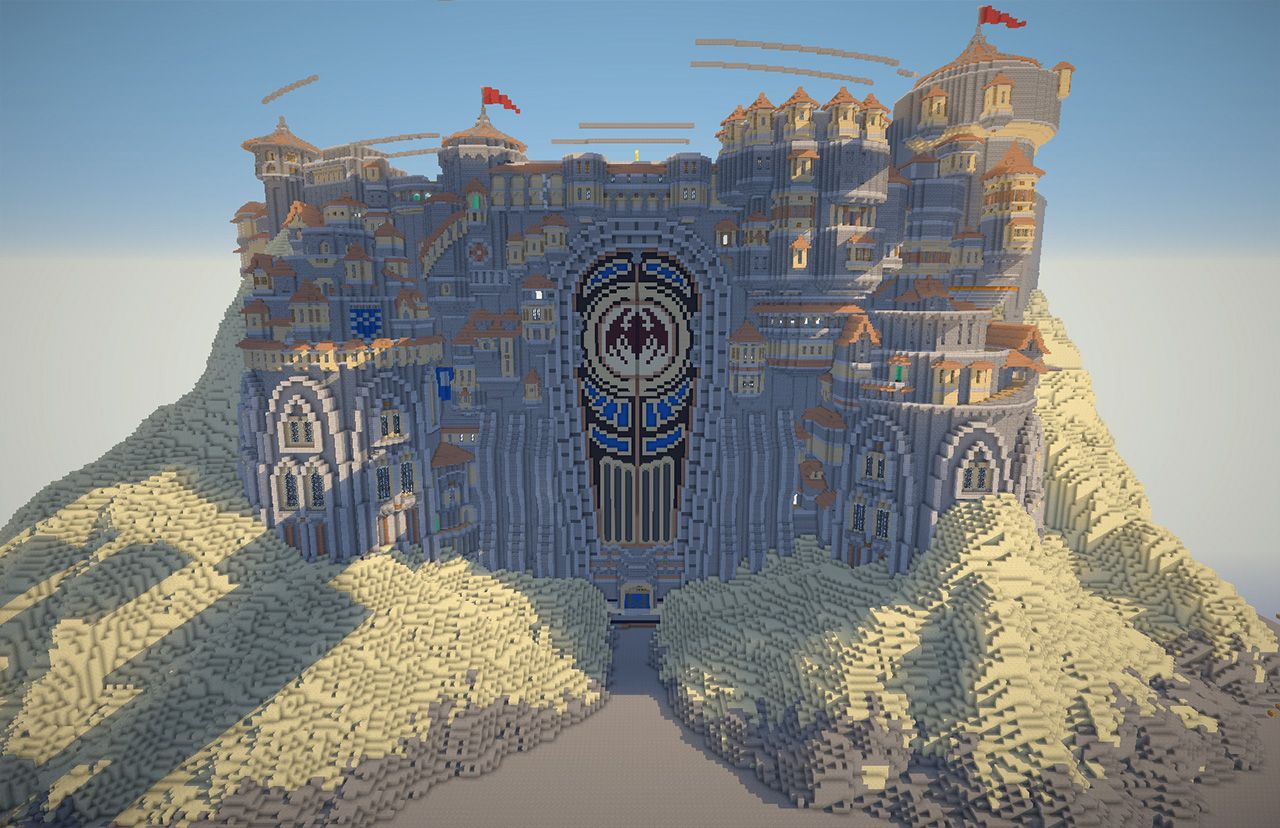 A New Image Showing The Recent Work That Has Been Done  Including Building The Mountain Base And