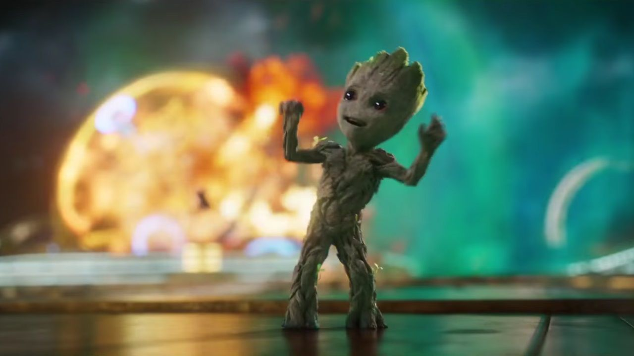 Image For Baby Groot Dancing Wallpaper Guardians Of The Galaxy 2