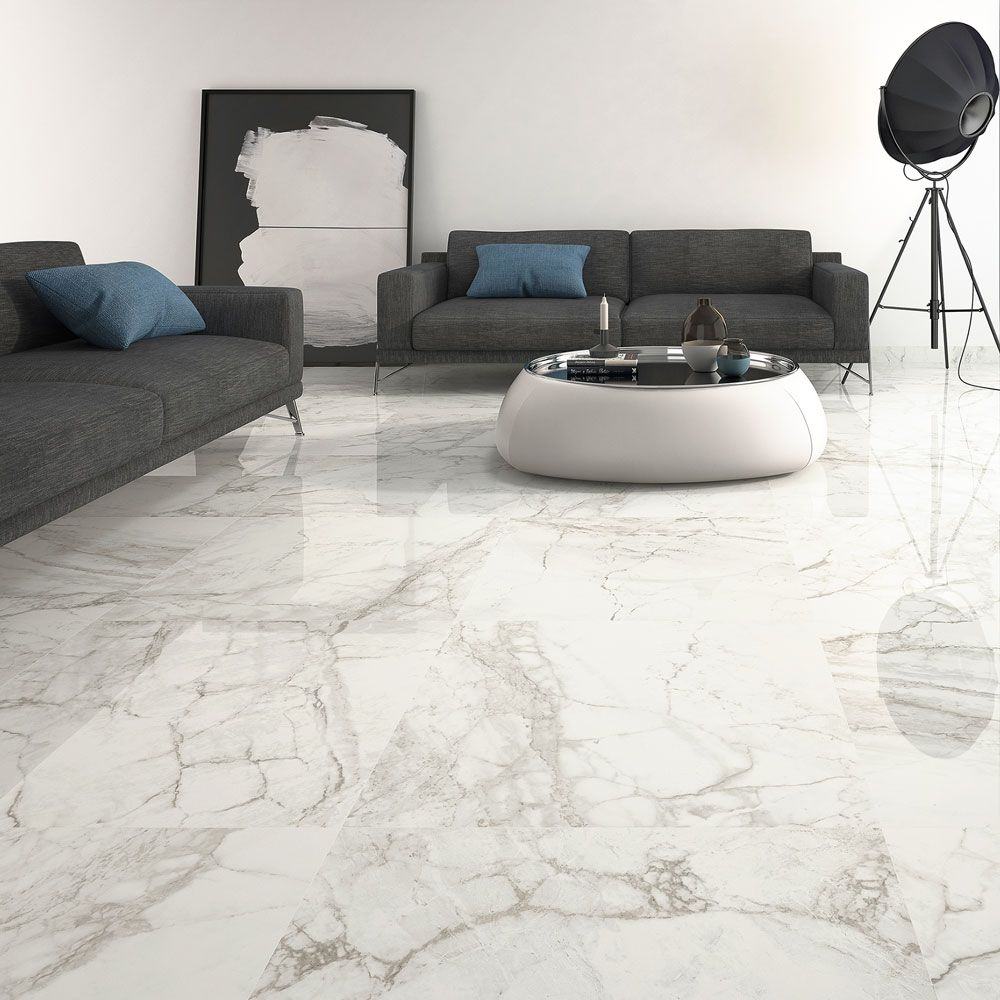 seventh avenue marble effect tiles. realistic alternative to natural