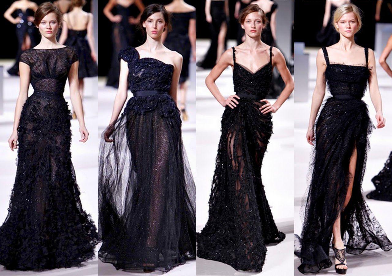 All Black Wedding Dresses - Ocodea.com | Black Wedding Dresses ...