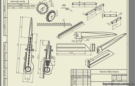 Image Result For Assassin S Creed Hidden Blade Blueprint Assassin S Creed Assassins Creed Armas