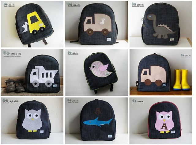 My Handmade Home: Frequently Asked Questions about my Josh & Teo Toddler Backpacks - 2014 Edition