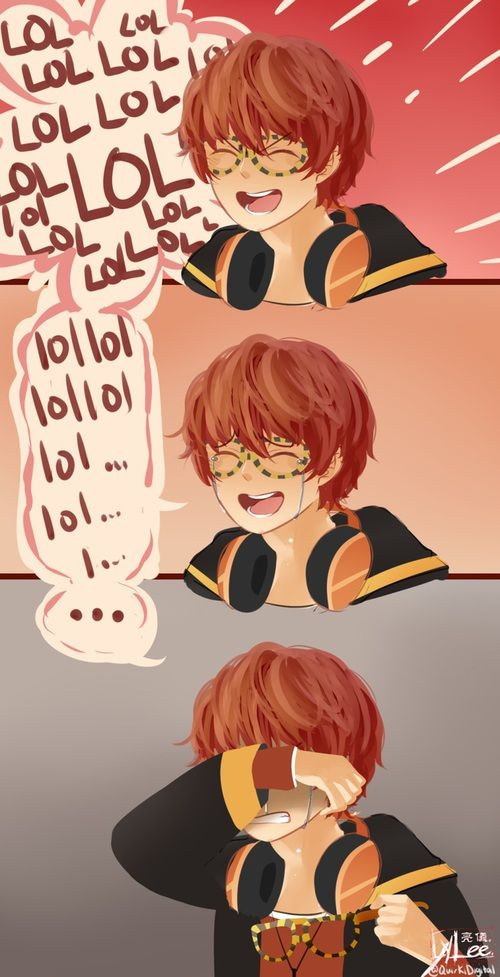 I Love You, mystic messenger, and luciel choi 이미지