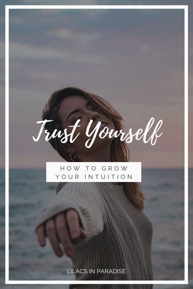 how to build trust in yourself
