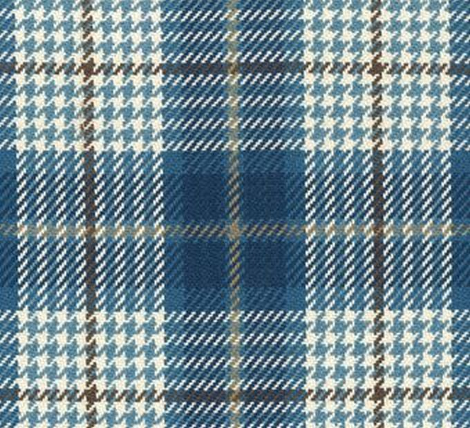 Brennan D3077 Cobalt Plaid Upholstery And Drapery Fabric Decorativefabricsdirect Com In 2020 Drapery Fabric Upholstery Fabric Decor