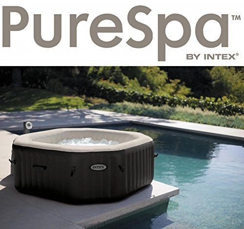 intex pure spa jet bubble deluxe 6 person octagonal inflatable hot tub products i love. Black Bedroom Furniture Sets. Home Design Ideas