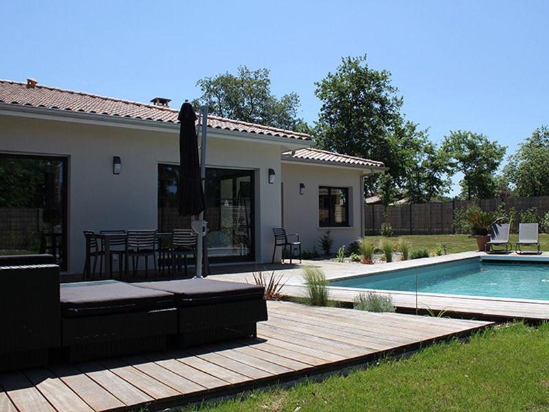 Maison du0027architecte sur terrain en pente à côté de Toulouse - plan de maison sur terrain en pente