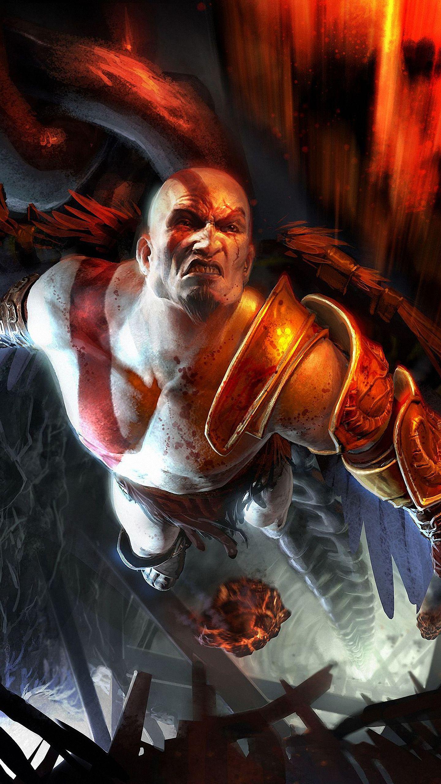 Resultado De Imagem Para God Of War Wallpaper Iphone Kratos