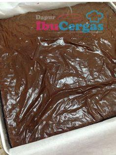 Rahsia Mendapatkan Kedut Pada Brownies Dapur Ibucergas Resepi Cupcake