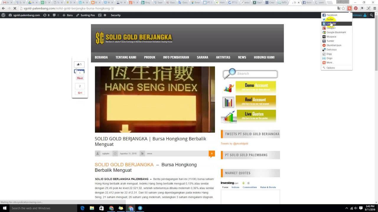 PT. Solid Gold Berjangka Cabang Semarang