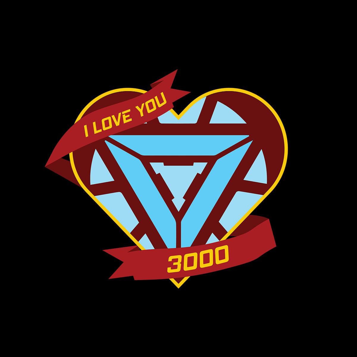 I Love You 3000 Avengers End Game Tony Stark I Love You My Love Love You