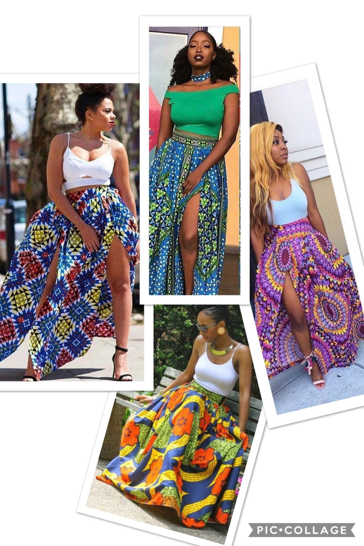 353646f366915 african style high waist long skirt (I'm in love) Amazon affiliates ...
