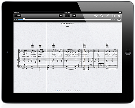 notestar is yamaha 39 s digital sheet music application for ipad where you can download digital. Black Bedroom Furniture Sets. Home Design Ideas