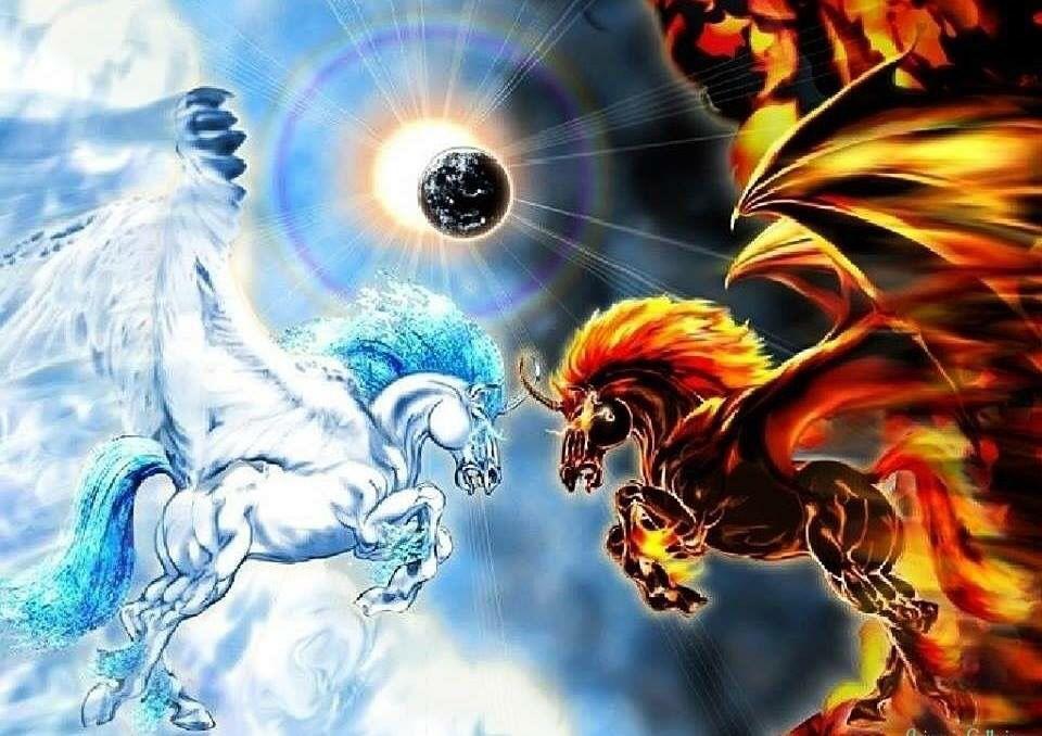Chevaux Ailes Art Mythical Creatures Art Unicorn Art