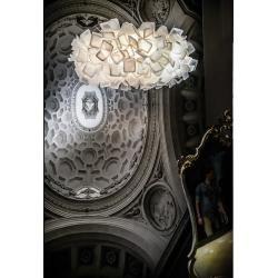 Photo of Slamp Designer-Pendelleuchte Clizia Large, Opalflex® weiß Clizia Cli78sos0003w_000 SlampSlamp