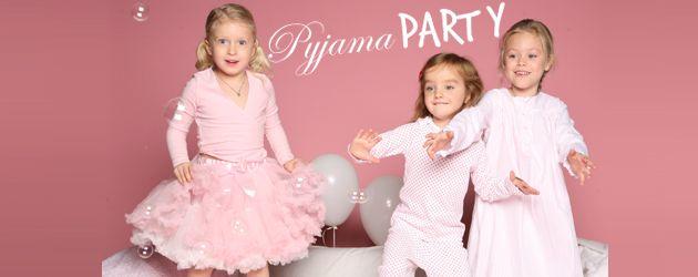 Fete pour enfants : evenements filles - pyjama party Jolis Kids