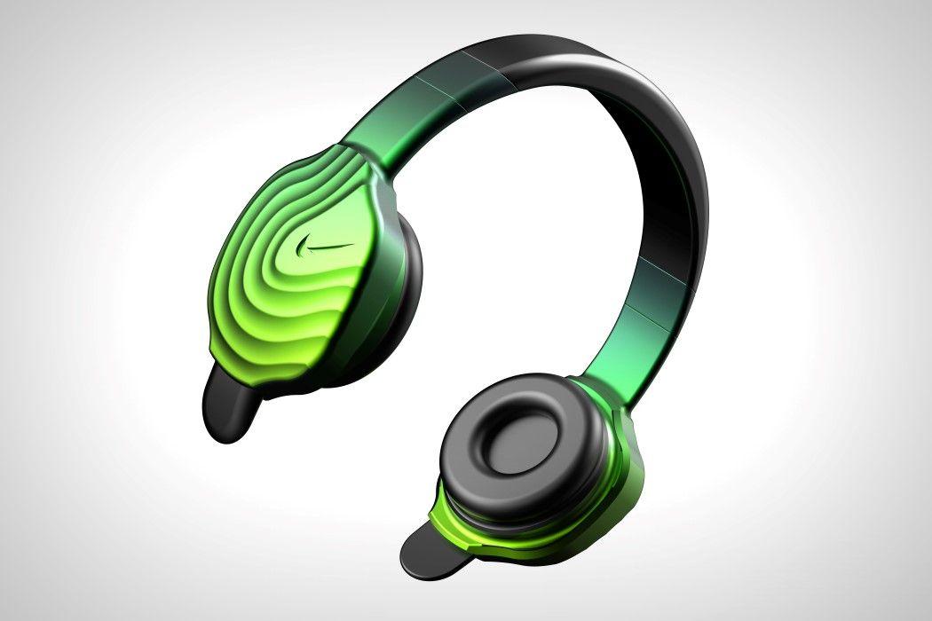 2addfe80174 This Nike headphone concept looks both sporty and premium!   Yanko Design