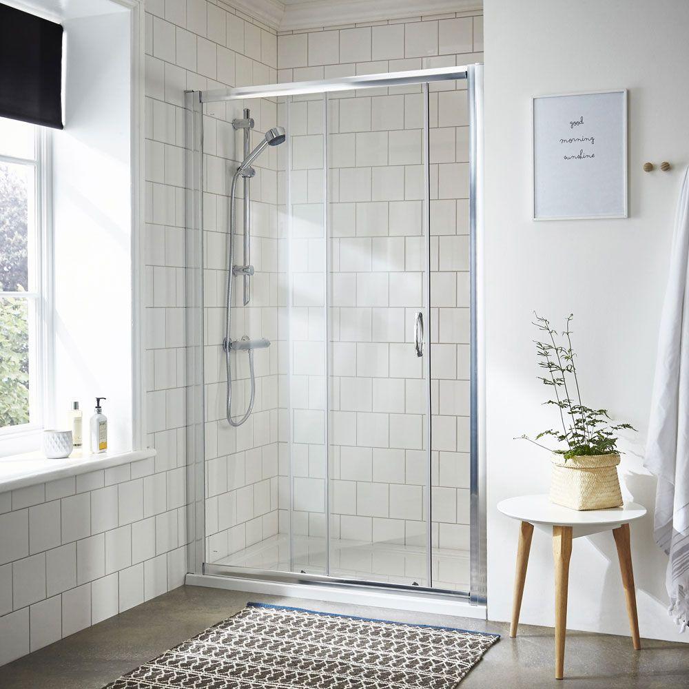 Ella Sliding Shower Door - Various Size Options | Shower doors ...
