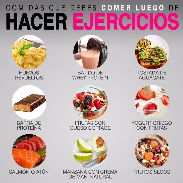 Lo que debes comer antes y después del ejercicio..