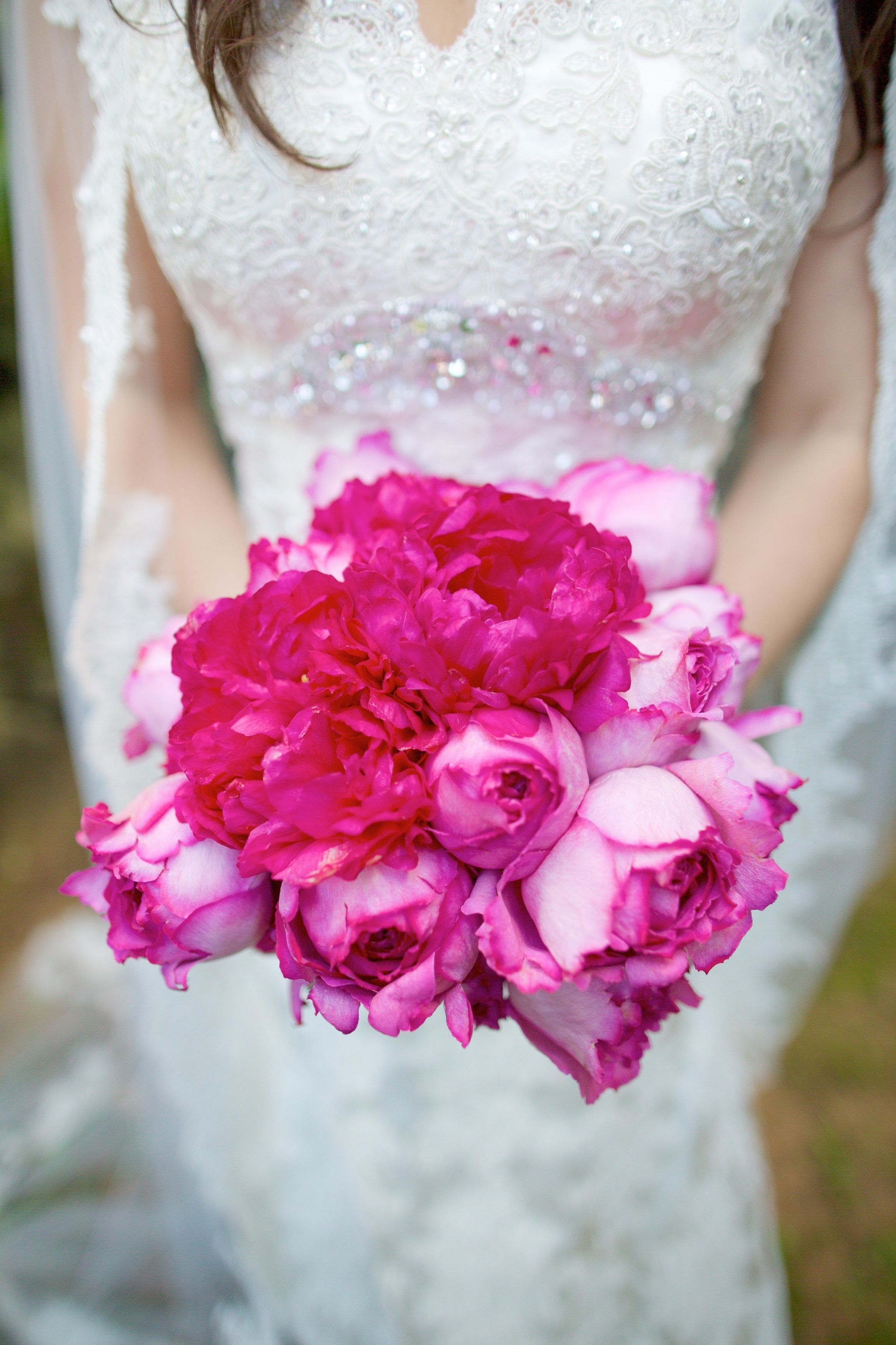 A Wedding with a Pop of Color | Pinterest