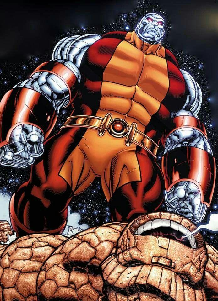 Colossus vs Thing   Marvel comics, Marvel comic books ...