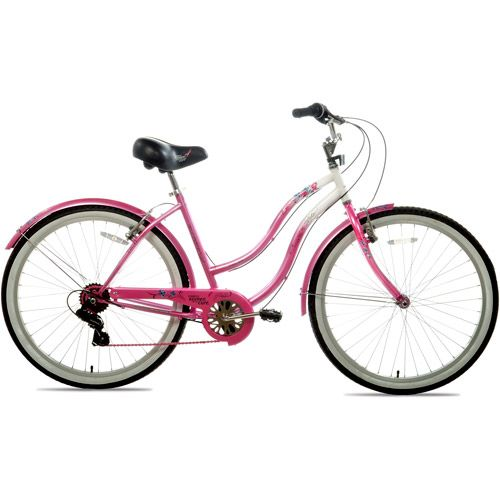 Susan G Komen Multi Speed Cruiser Bike 26 Wheels 7 Speeds 120 Made By Kent Womens Bike Beach Cruiser Bike Cruiser Bike