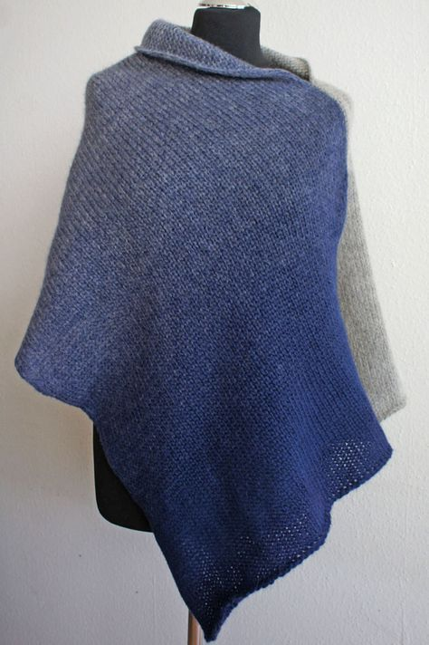Photo of ▷ Trendigen Poncho stricken – Anleitung | sockshype.com