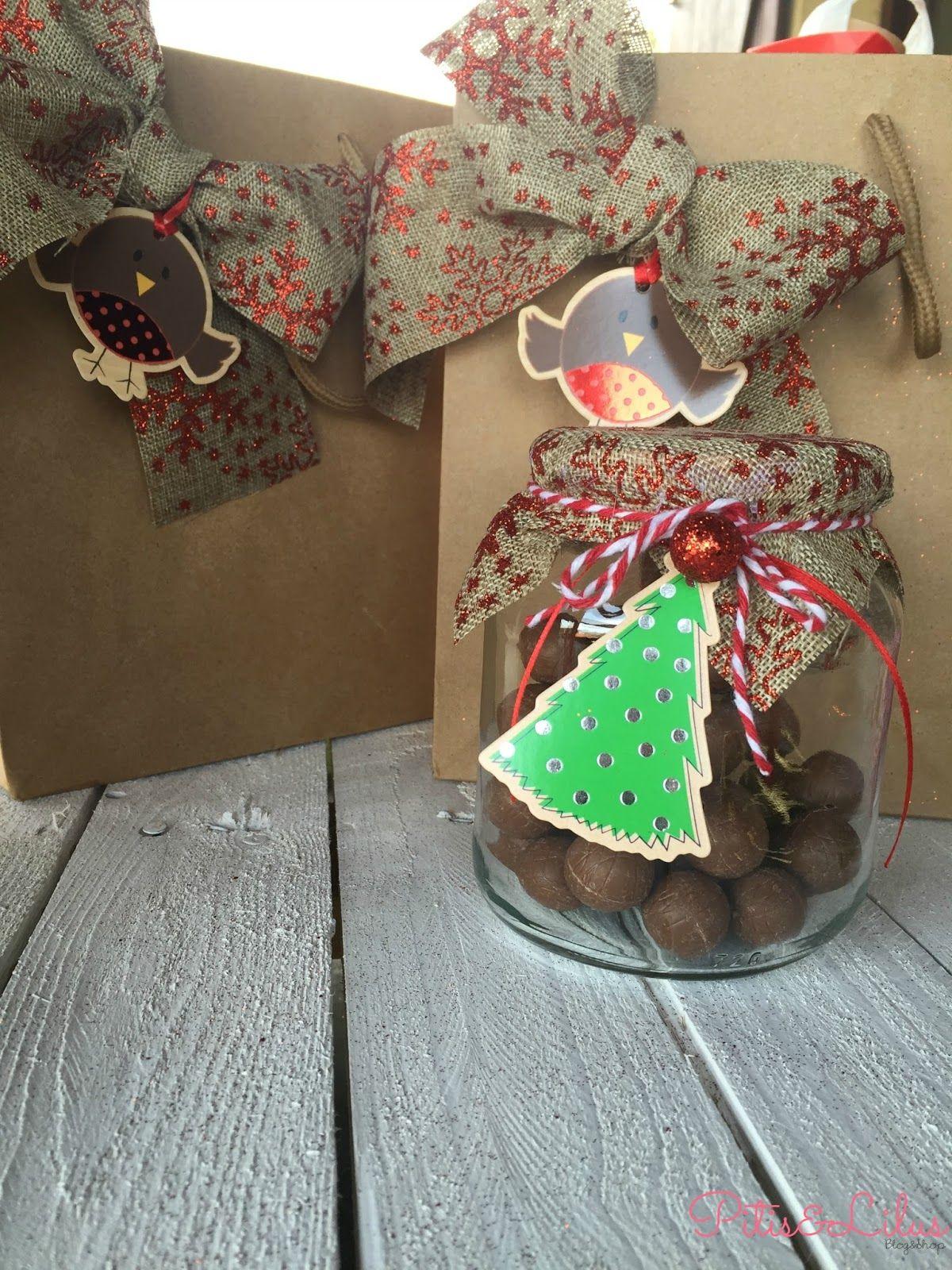 Pitis and lilus diy detalles navide os sencillos y - Ideas para regalos navidenos ...