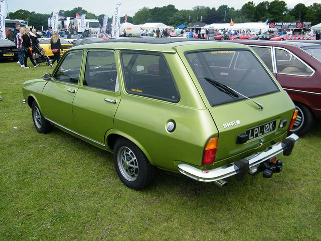 1971 Renault 12 Estate Renault European Cars Classic Cars