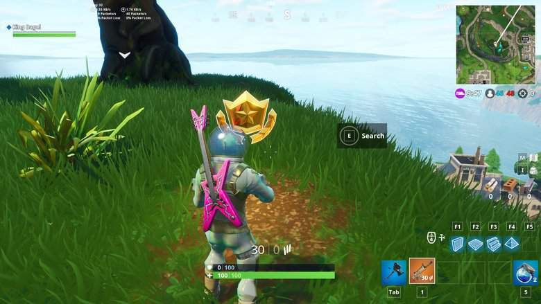 Search Between Three Oversized Seats How To Solve Fortnite Week 8