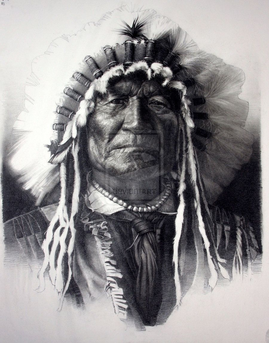 Native american indians pictures native american indian chief by murrayiii on deviantart