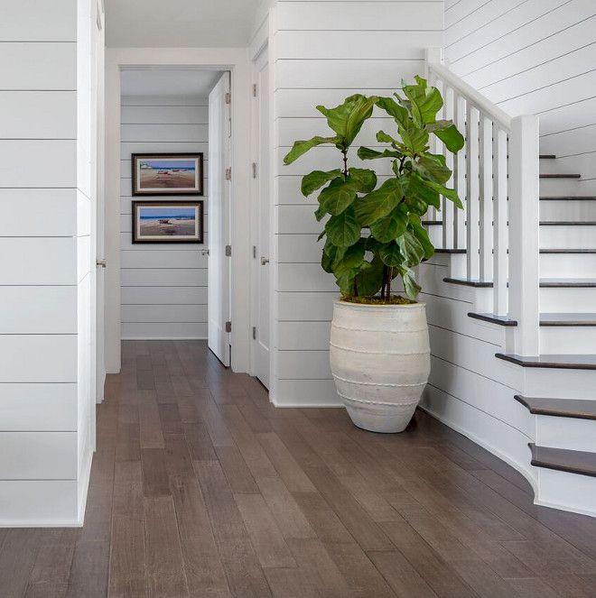 Modern Garage Floor Tiles Design With Grey Color Interior: Coastal Farmhouse Interior Design