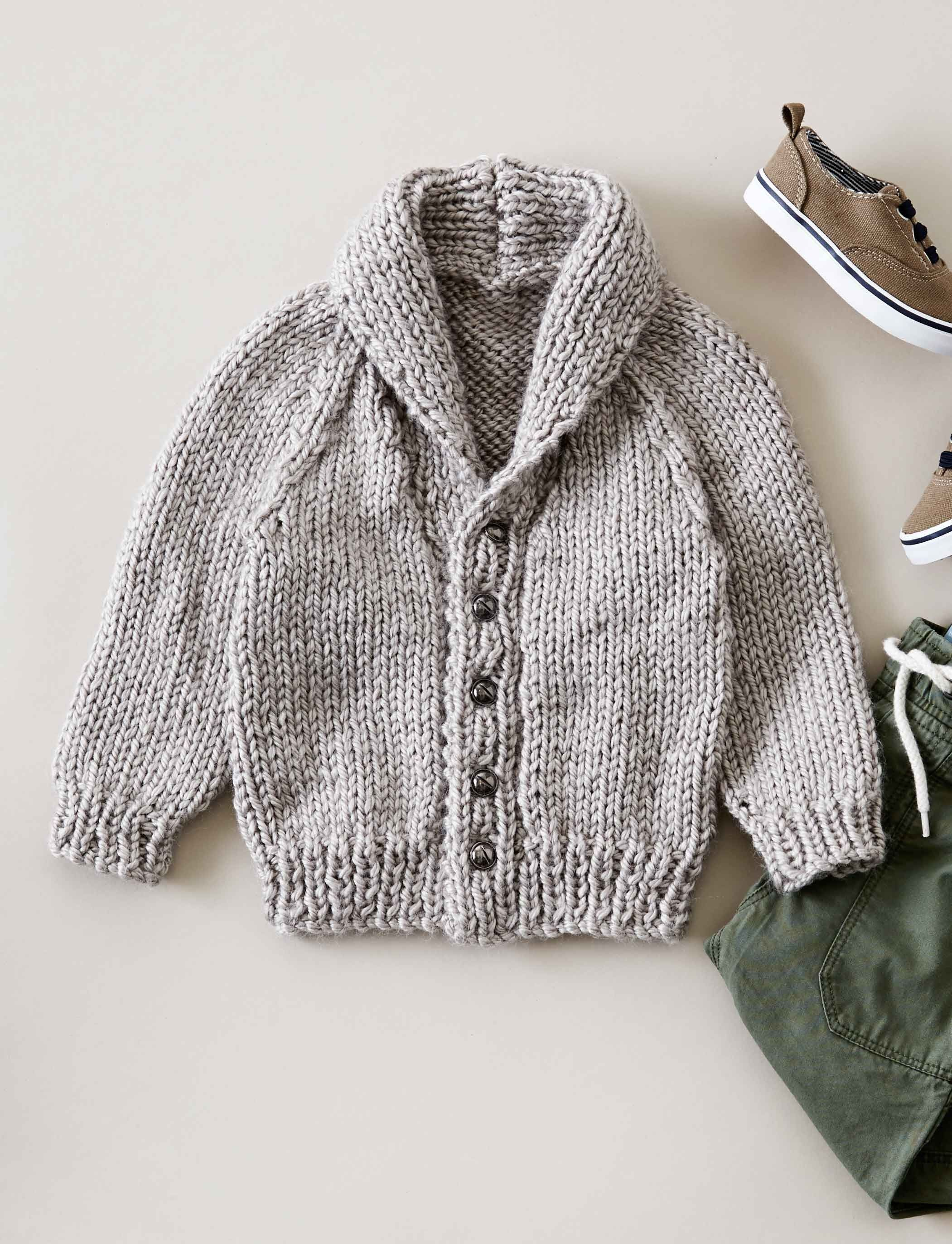 Shawl Collar Cardigan | Knitting | Pinterest
