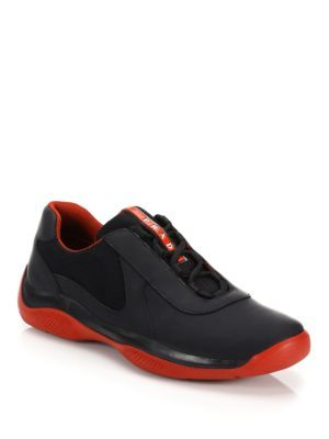 Prada -Leather America's Cup Sneakers