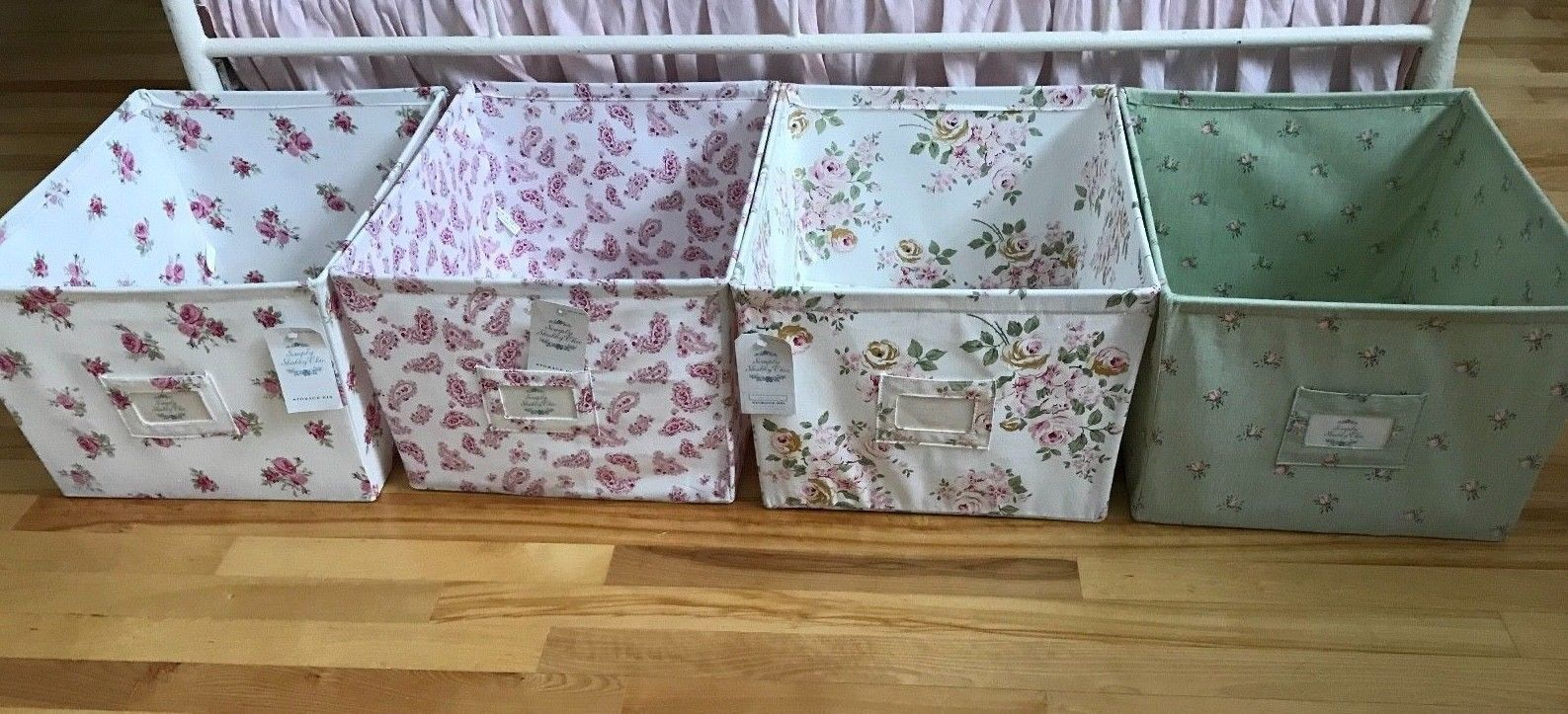 Simply Shabby Chic Storage Bins For Your Space
