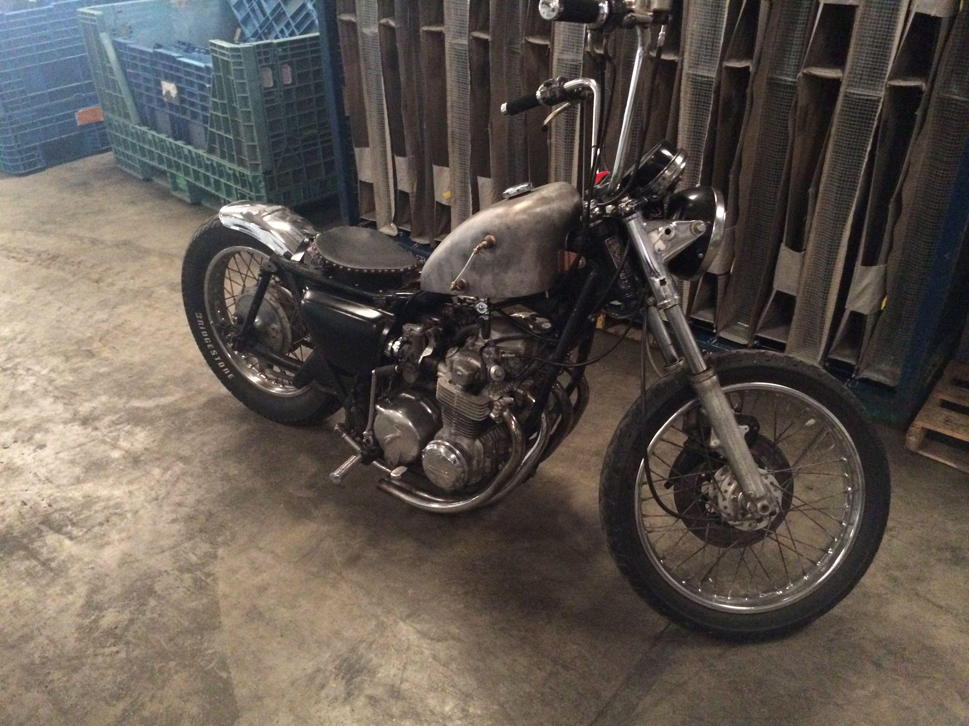 1976 honda cb550 four rat bobber my bike pinterest cb550