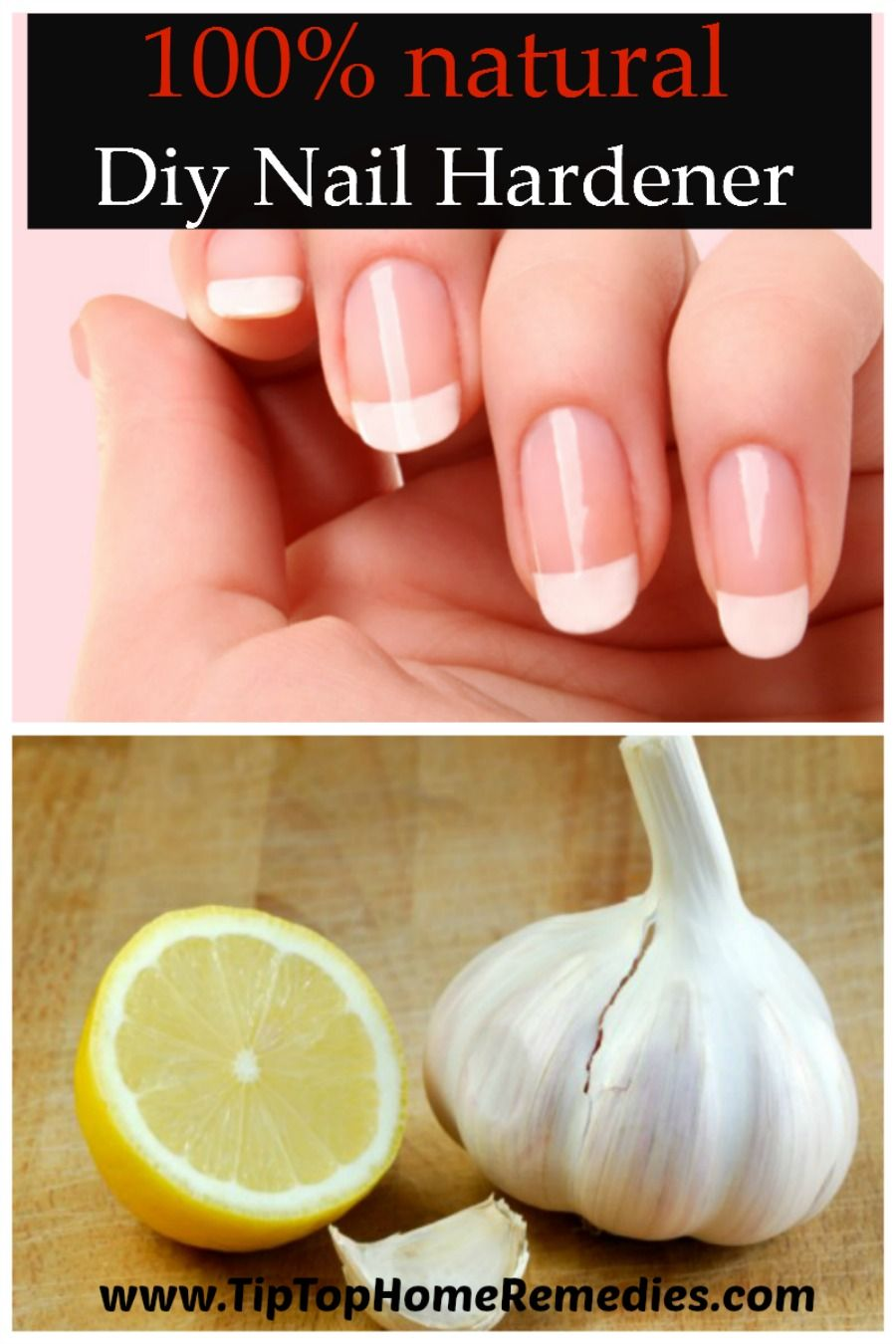 Diy Nail Hardener 100 Natural Will Save You Big Money And Gives You Strong And Healthy Nails Ti Diy Healthy Nails Homemade Nail Strengthener Nail Hardener