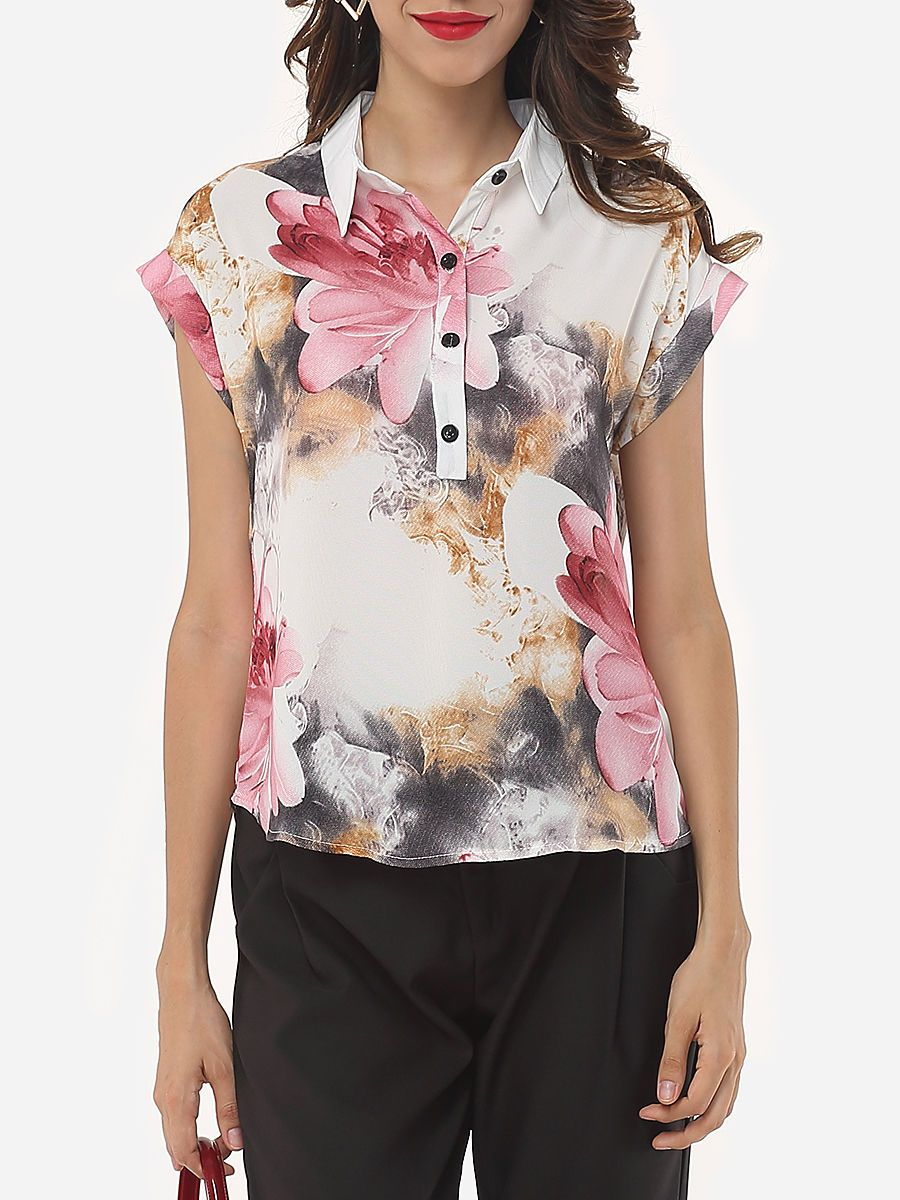 Reward yourself with this  Assorted Colors Floral Printed Printed Single Breasted Elegant Button Down Collar Short-sleeve-t-shirts http://www.wasandnow.com/shop/fashion-2/assorted-colors-floral-printed-printed-single-breasted-elegant-button-down-collar-short-sleeve-t-shirts/ #Assorted, #Breasted, #Button, #Collar, #Colors, #Down, #Elegant, #Fashiomia, #Fashion, #Floral, #Printed, #Shirts, #Short, #Single, #Sleeve, #T, #Womens Assorted Colors Floral Printed Printed Single Brea