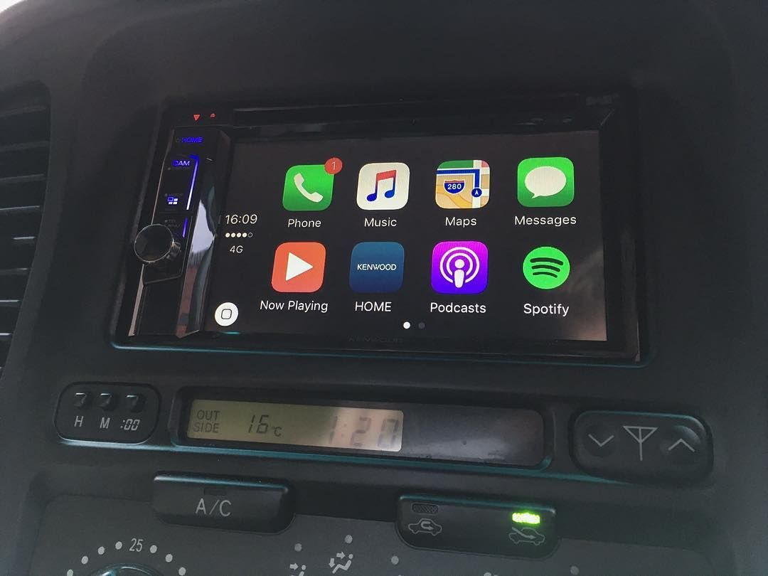 Kenwood Ddx 8016dabs Installed Into Jeep Grand Cherokee Cen Jeep