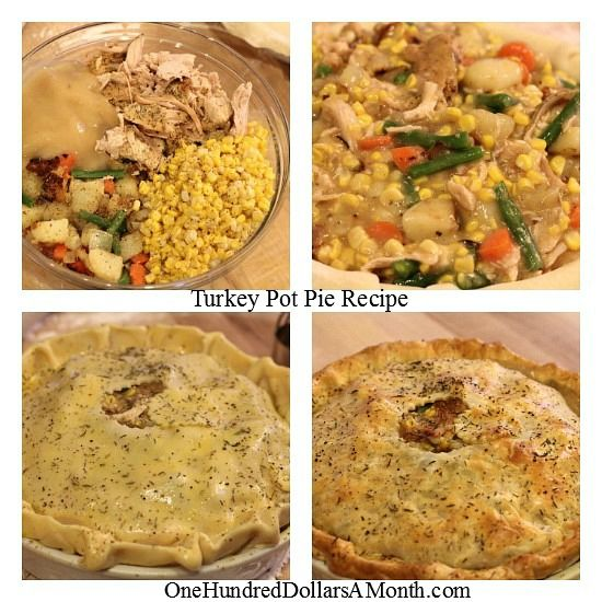 Thanksgiving Leftovers - How to make a turkey pot pie.